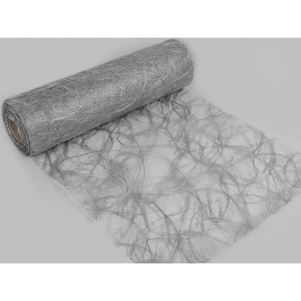 Sizoweb Vlies 30 cm x 25m 1400 silber