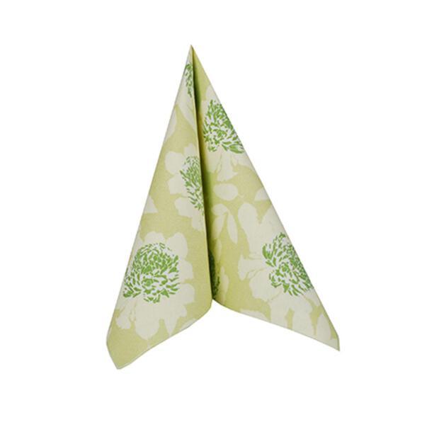 50 Servietten Papstar Royal Collection Adele grün 40 cm x 40 cm 85011