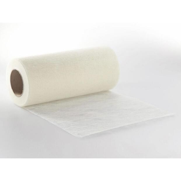 Sizoflor Vlies 20 cm x 5m 0012 weiß
