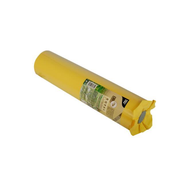 """Tischläufer, Tissue """"ROYAL Collection"""" 24 m x 40 cm gelb"""