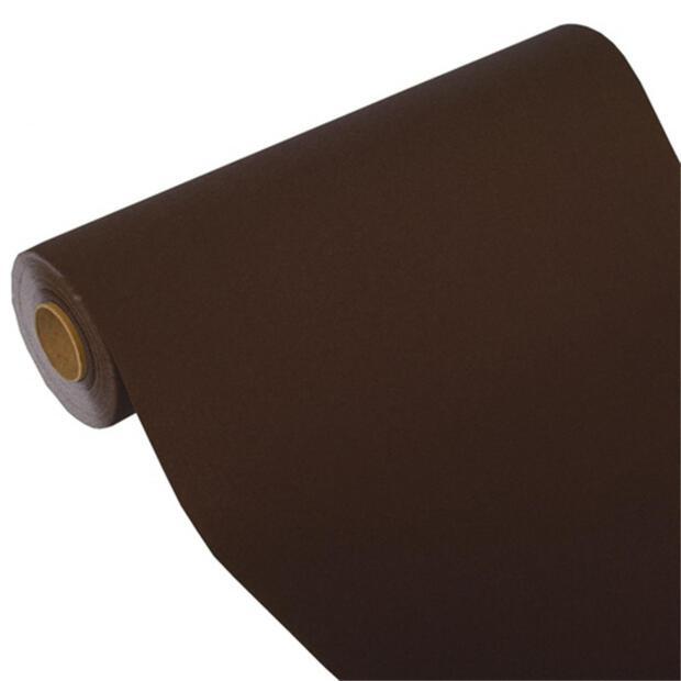 """Tischläufer, Tissue """"ROYAL Collection"""" 24 m x 40 cm braun"""