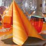 "PI ""Soul"" arancio/orange, 40 x 40cm, 1/4 Falz, Airlaid"