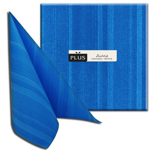 """PI """"Soul"""" mare/seeblau, 40 x 40cm, 1/4 Falz, Airlaid"""