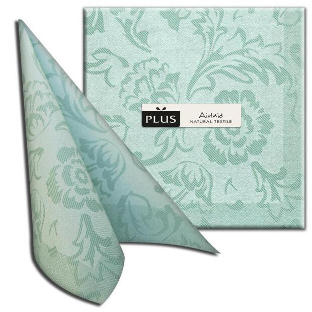 "PI ""Elite"" verde/grün, 40 x 40cm, 1/4 Falz, Airlaid"