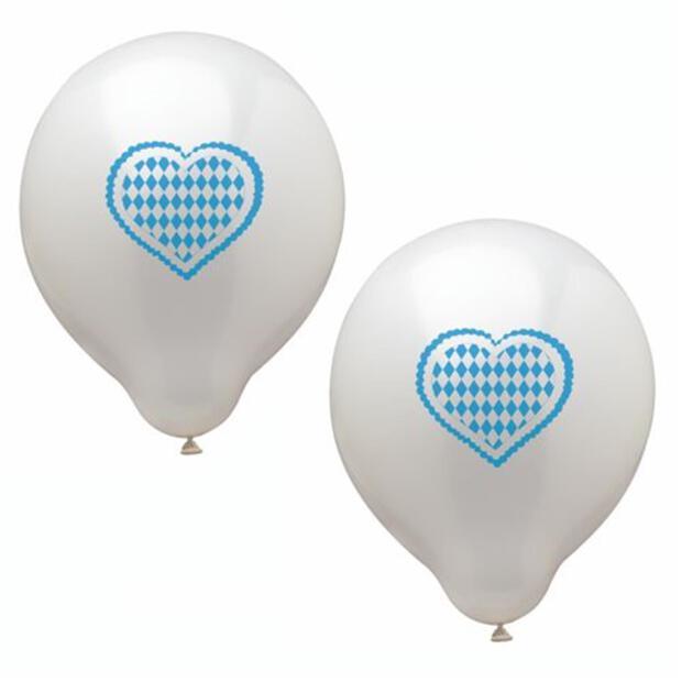 "Luftballons Ø 25 cm ""Bayrisch Blau"""