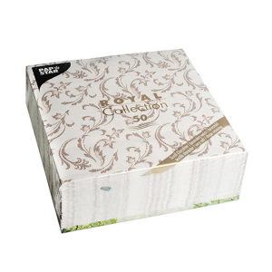 Servietten ROYAL Collection 1/4-Falz 40 cm x 40 cm braun...