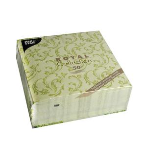 Servietten ROYAL Collection 1/4-Falz 40 cm x 40 cm...
