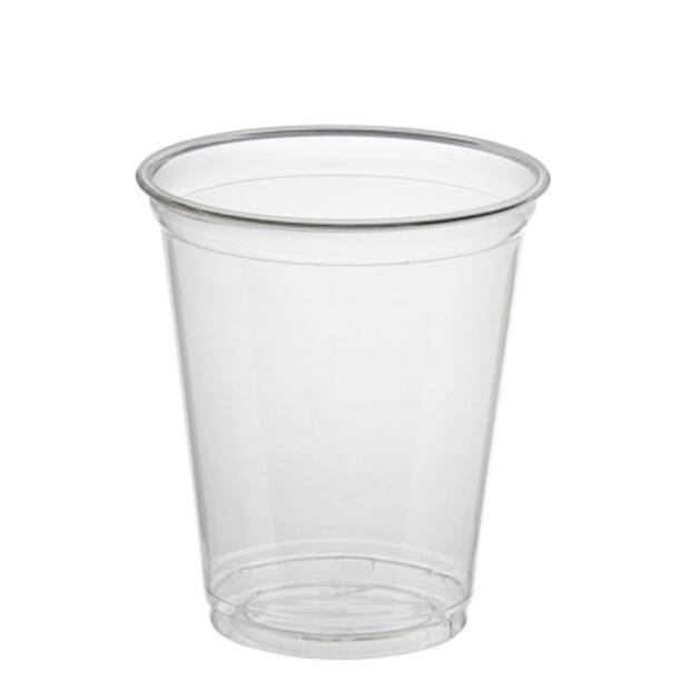 "50 Trinkbecher ""Hurricane"", PET 0,3 l Ø 9,5 cm · 10,5 cm glasklar"