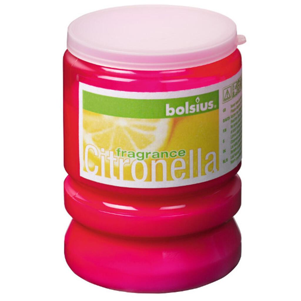 Partylight Citronella Duft outdoor 90/70mm fuchsia