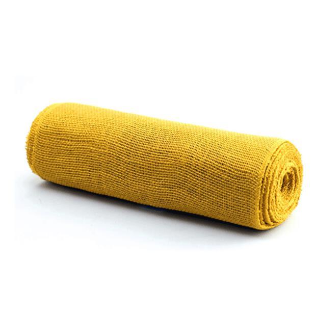 Juteband 30cm x 10m 105 gelb