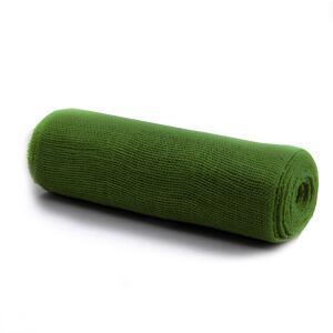 """2 meter Jute Band Juteband /""""steif/"""" 5 cm breit grün"""