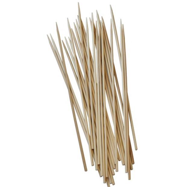 1000 Schaschlikspieße, Bambus Ø 3 mm · 25 cm
