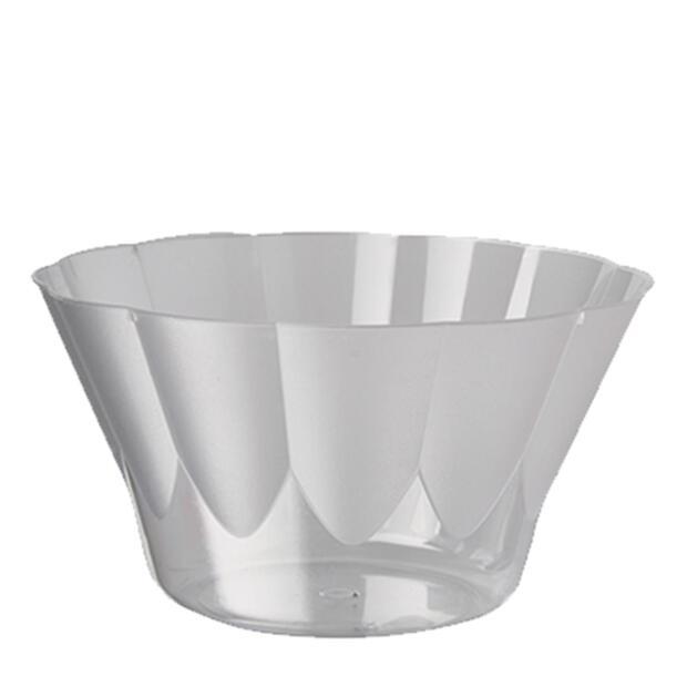 20 Eis- und Dessertschalen, PS rund 400 ml Ø 12 cm · 7 cm glasklar