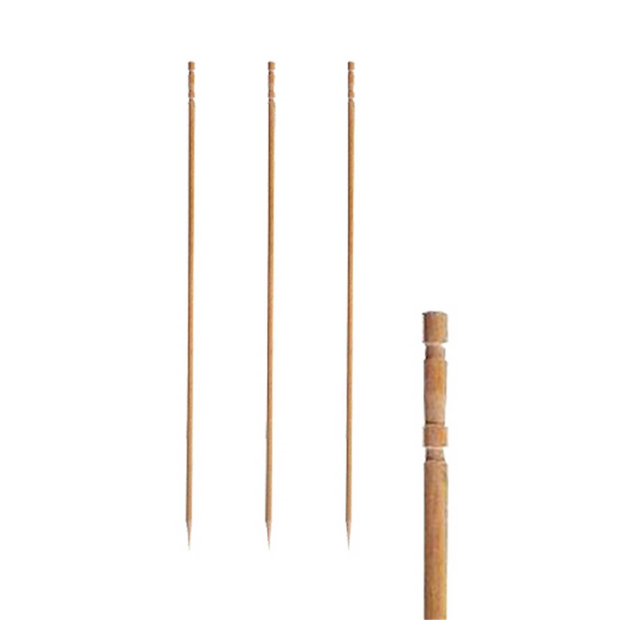 """250 Fingerfood Spieße 10 cm /""""Knoten/"""" Party Picker Deko Sushi"""