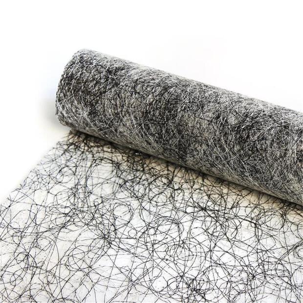 Sizolurex Vlies 30 cm x 10m 11/14 schwarz silber