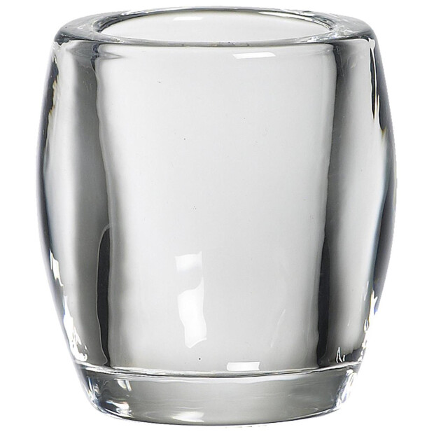 Bolsius Teelichthalter Oval klar