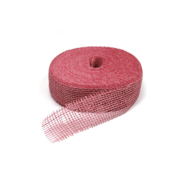 Jute Band 5cm x 40m 3030 pink