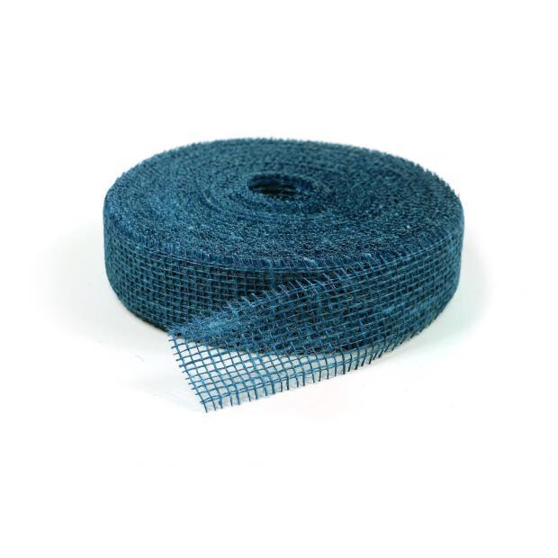 Jute Band 5cm x 40m 7450 niagara blau