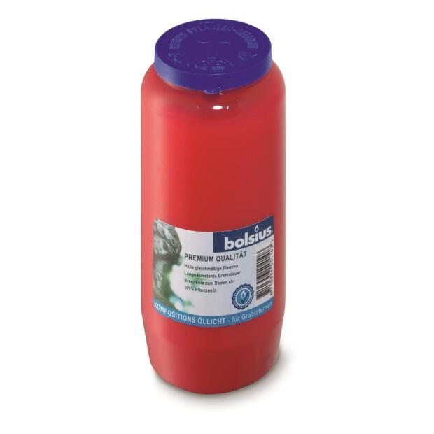 100% Reines Pflanzenöl-Licht Nr.7 rot