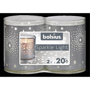 Bolsius Sparkle Lights Galaxis 2er-Pack