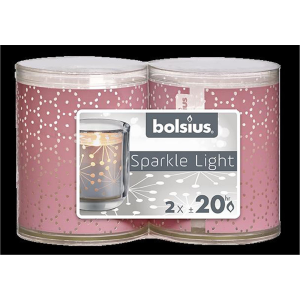 Bolsius Sparkle Lights Spitze 2er-Pack