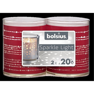 Bolsius Sparkle Lights Band 2er-Pack