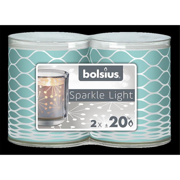 Bolsius Sparkle Lights Net 2er-Pack