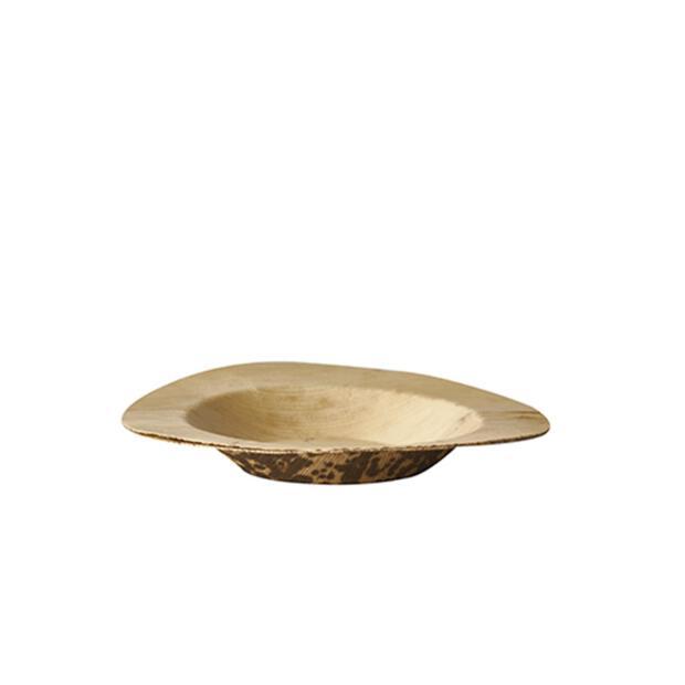 50 Papstar pure Fingerfood-Teller aus Bambus rund Ø9cm x 1,3cm 87224