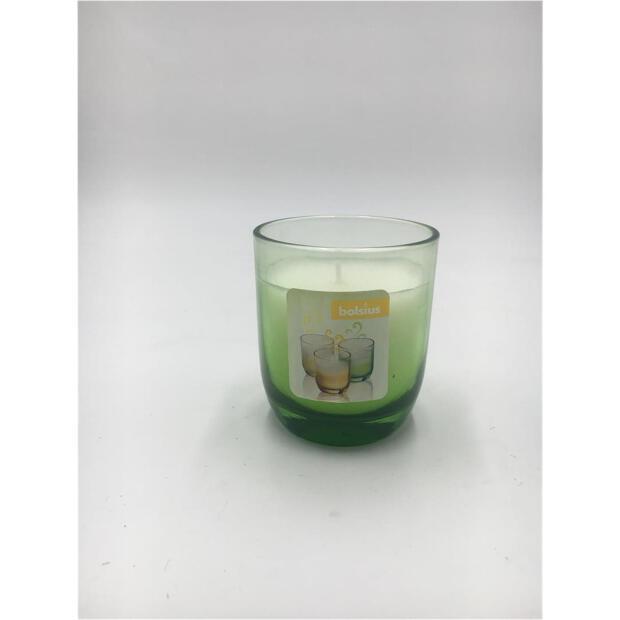 Duftglas gefüllt Ø 7,7 cm x 8,7 cm - Fading grün