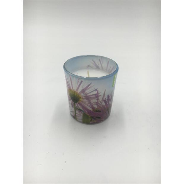 Duftglas gefüllt Ø 7,2 cm x 8 cm - Frühlingsgarten lila