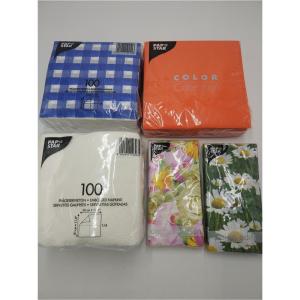 10 Pakete Servietten //überwiegend ganzjährig nutzbar //verschiedene Motive