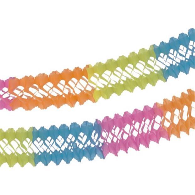 """Girlande, Papier Ø 16 cm · 4 m """"Summer Colours"""""""