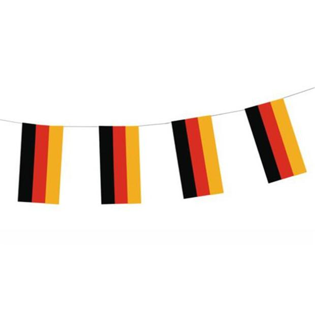 "Flaggenkette, Papier 4 m ""Germany"""