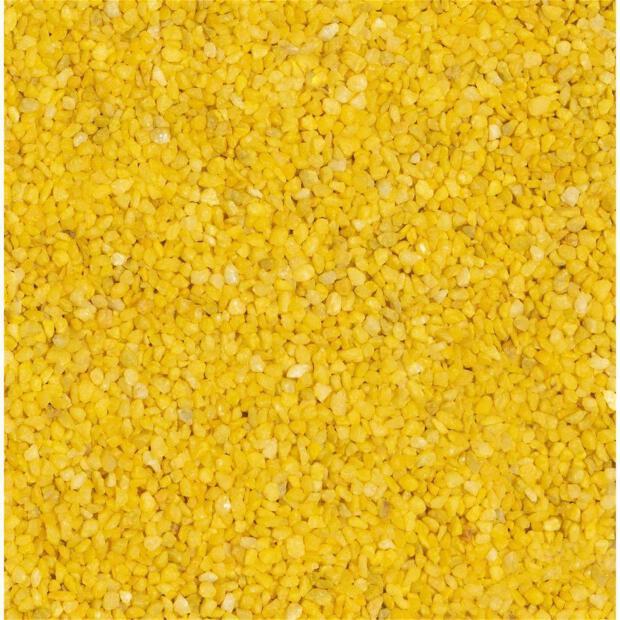 Granulat 2-3 mm gelb (Beutel 1 kg)