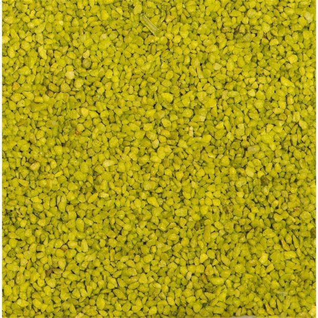 Eurosand Granulat 2-3 mm apfelgrün (Beutel 1 kg)