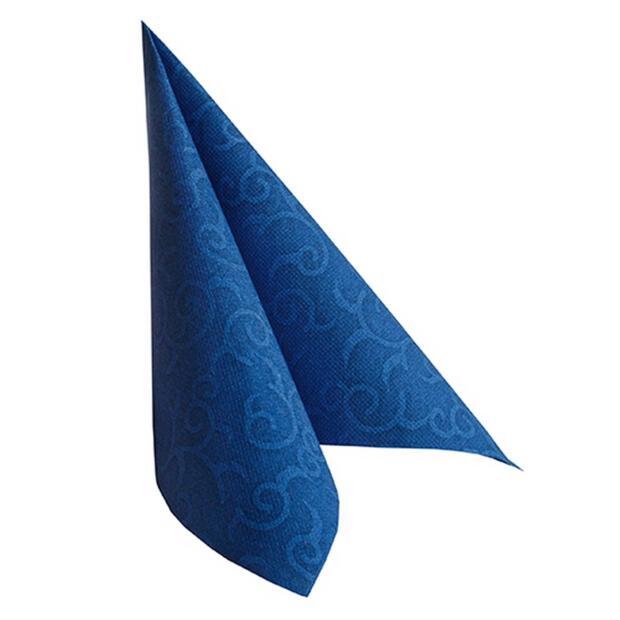 """Servietten """"ROYAL Collection"""" 1/4-Falz 40 cm x 40 cm dunkelblau """"Casali"""""""