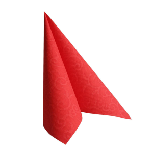 Servietten ROYAL Collection 1/4-Falz 40 cm x 40 cm rot Casali