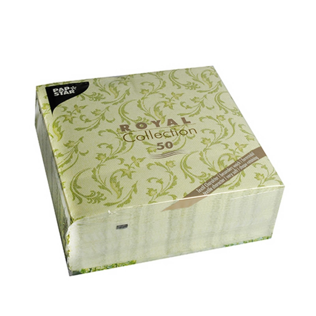 250 Servietten ROYAL Collection 1/4-Falz 40 cm x 40 cm...