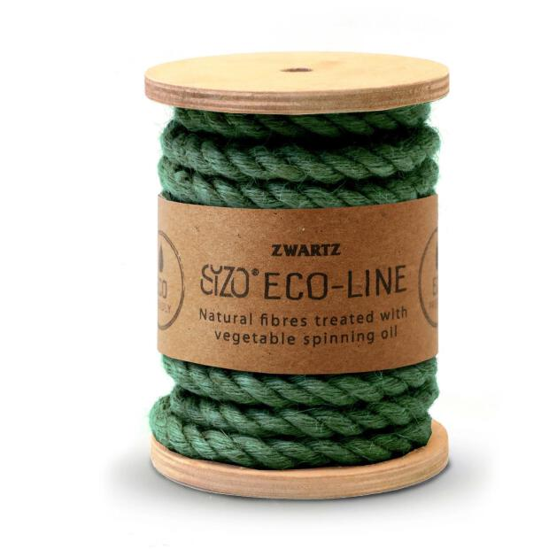 Sizo Jutekordel dunkel grün 7mm x 5m