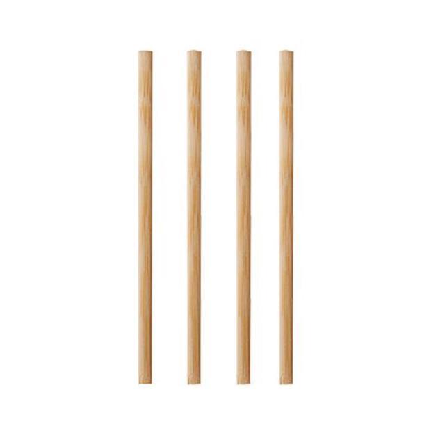 Papstar 1000 Rührstäbchen, Bambus pure 11 cm x 3 mm