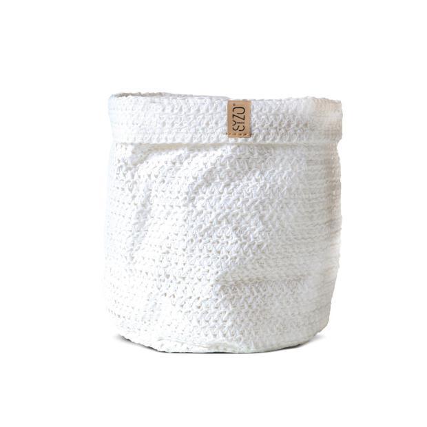 Sizobag Papier weiss Ø 20 cm