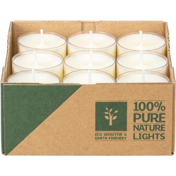 Wenzel Teelichter Natural Lights 7 Stunden Brenndauer 18 Stück