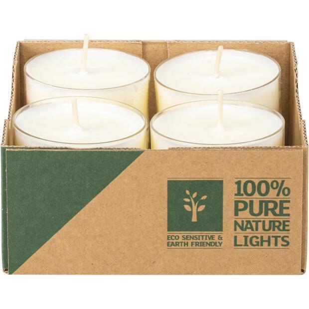 Wenzel Teelichter Natural Lights 10 Stunden Brenndauer 8 Stück